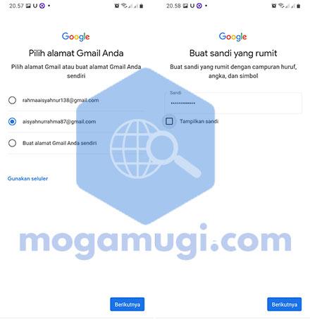 Buat Gmail Baru Dari HP