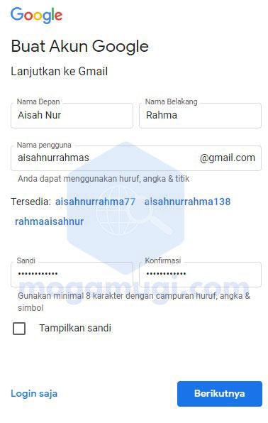 Cara Buat Gmail Baru Dari Laptop