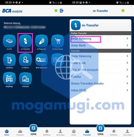 Cara Menambah Daftar Transfer di BCA Mobile
