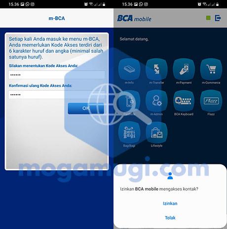 Install BCA Mobile di HP Baru Berhasil