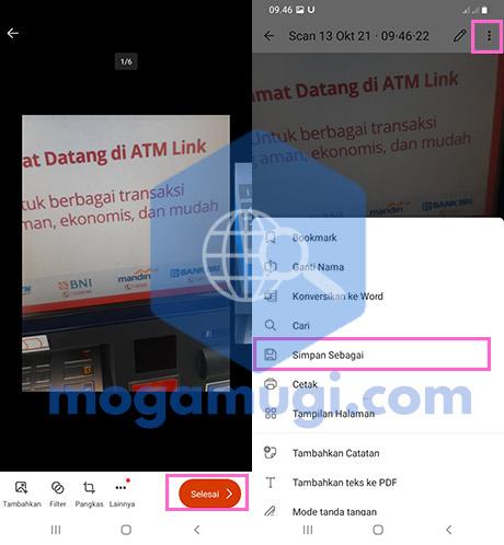 Cara Mengubah JPG ke PDF di Android Offline