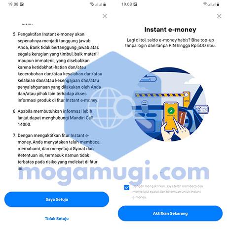 New Livin Mandiri e-money
