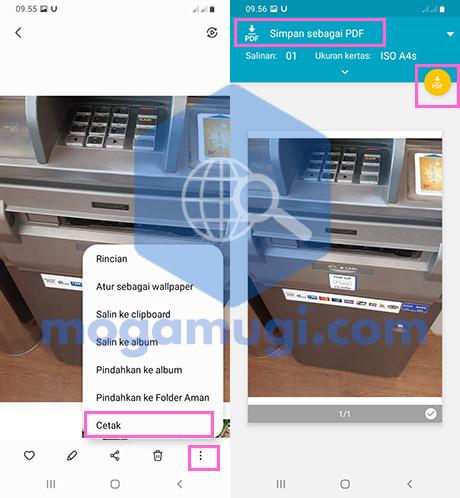 Simpan Sebagai PDF Android